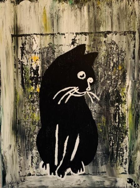 Schwarze Katz
