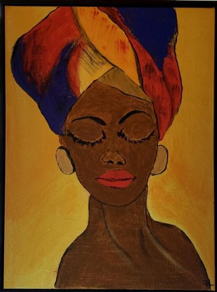 Portrait abstrakt 2