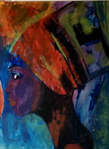 Portrait abstrakt 1