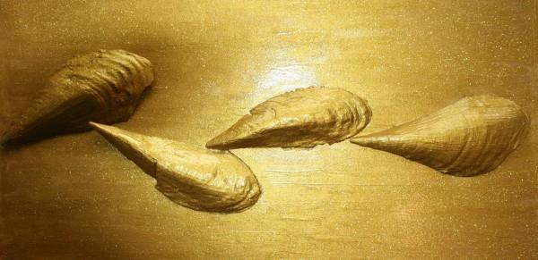 Goldmuscheln