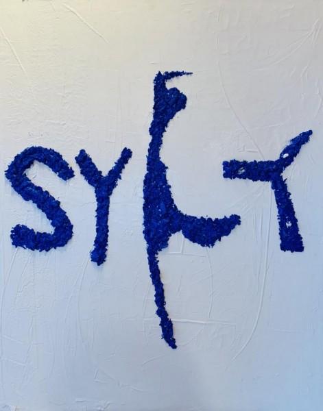 Sylt- blauer Muschelbruch