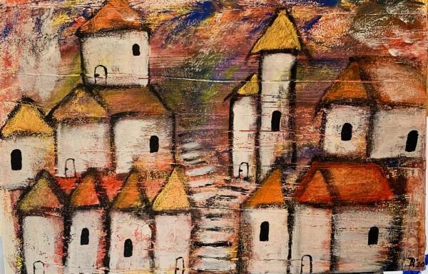 Häuser abstrakt 2