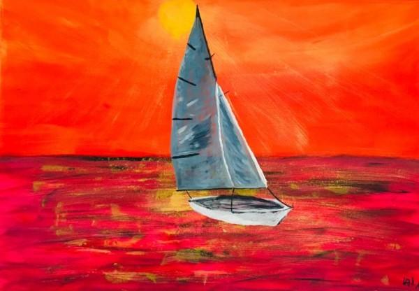Segeln im roten Meer